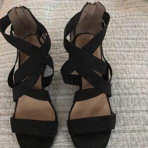 Liz Claiborne Gorgeous Wedge Shoes Heels!! Size 7M